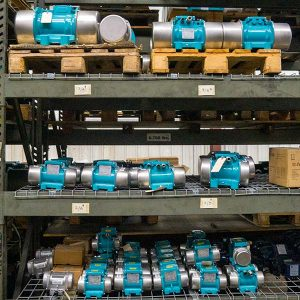 Rotary Electric Vibrators on shelving