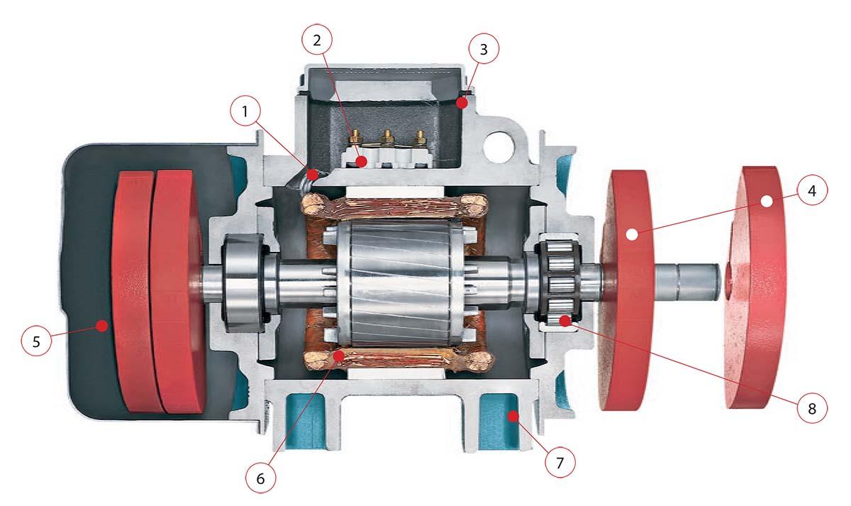 AViTEQ Rotary Electric Vibrator Electromechanical Vibrator Unbalanced Motor