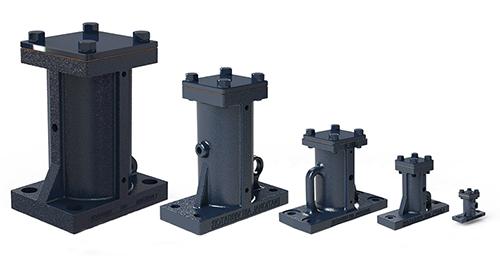 Multiple sizes of NAVCO BH Vibrators