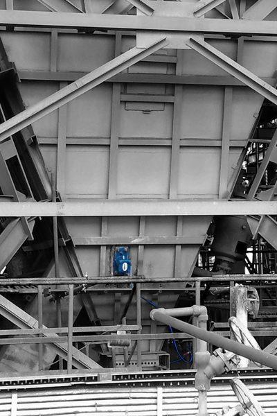 Coal bunker BH 4 BW