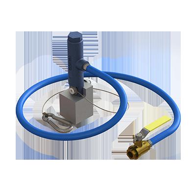 Magnevibe Render 1 Magnevibe,Magnetic mount vibrator,portable vibrator,material flow,light duty applications