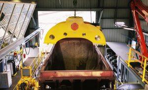 Overhead Railcar Shaker