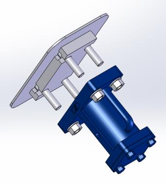 BH Vibrator T-Slot Mount