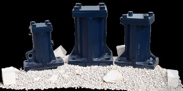 Three Extreme Duty BH Vibrators